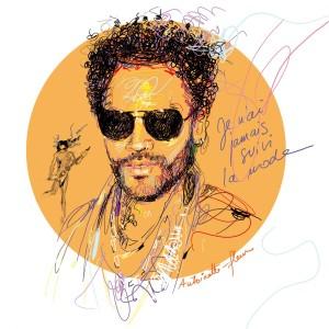 Lenny Kravitz pour le magazine Gala