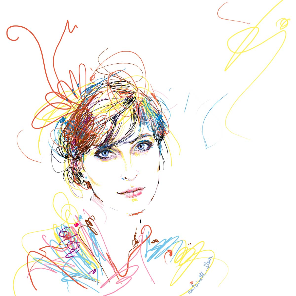 Amylee - Peintre et blogeuse