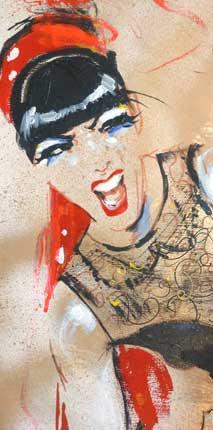 Detail Louise de Ville
