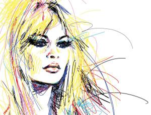 Brigitte Bardot Lancôme in Shanghai