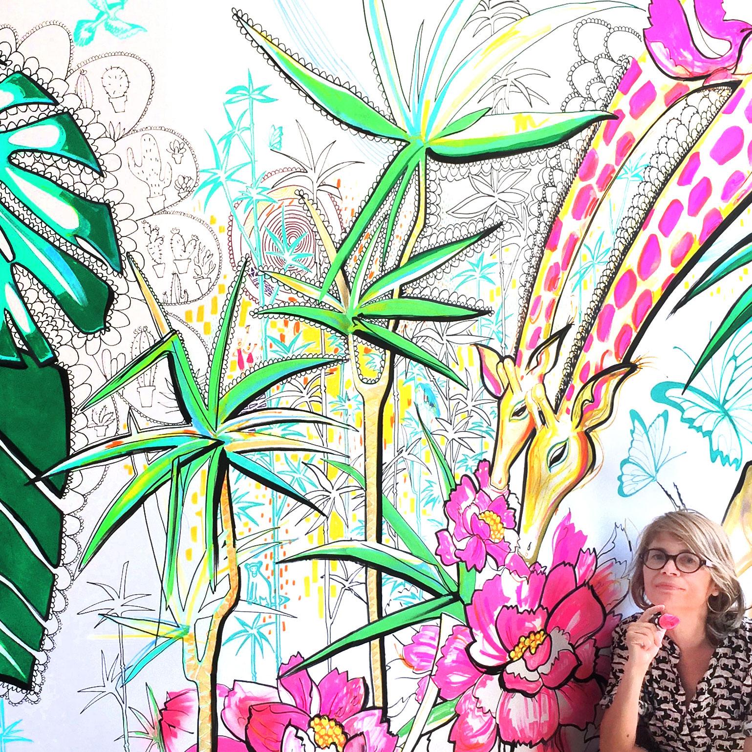 mural-AntoinetteFleur_deco-girafew